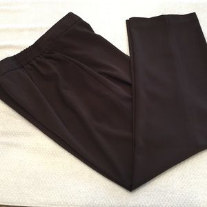 Woman's Dress Barn brown pants. Size 14w Easy care